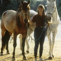 Kim Walnes' Horse Family in 1999