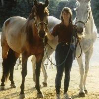 Kim Walnes' Horse Family in 1999
